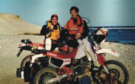 Mauro e Roberto nel 1987